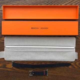 エルメス(Hermes)のApple Watch Hermes 38/40mm ケース用 レザーストラップ(レザーベルト)