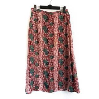 ワイズ(Y's)のワイズ ロングスカート サイズ2 M 花柄(ロングスカート)