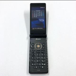 アクオス(AQUOS)のdocomo AQUOSケータイ SH-06G ブラック(携帯電話本体)