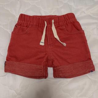 ギャップ(GAP)のデニム ショートパンツ 80 赤色(パンツ)