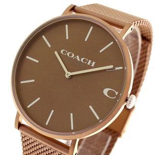 コーチ(COACH)のコーチ 腕時計 メンズ 14602471 チャールズクォーツ ブラウン(腕時計(アナログ))