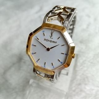 サンローラン(Saint Laurent)のイヴサンローラン腕時計 美品レディースクォーツ(腕時計)
