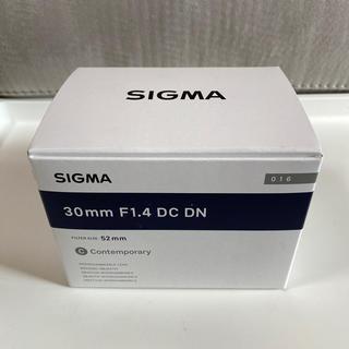 SIGMA - 未使用 SIGMA 30mm F1.4 DC DN ソニーEマウント