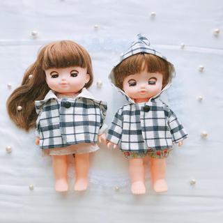 とんがりフードコート メルちゃん ソランちゃん ハンドメイド 服(人形)