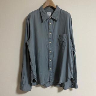 ヴィスヴィム(VISVIM)のvisvim ライトブルー ヴィンテージシャツ(シャツ)