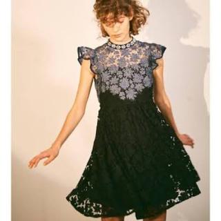 リリーブラウン(Lily Brown)のLily brown 膝丈ドレス(ミディアムドレス)