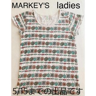 マーキーズ(MARKEY'S)のマーキーズ  レディース トップス Tシャツ 夏服(Tシャツ(半袖/袖なし))