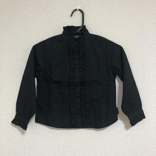コムサイズム(COMME CA ISM)のCOMME CA ISM ブラウス ブラック シャツ 黒(ブラウス)