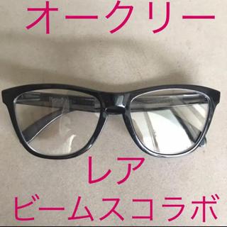 ビームス(BEAMS)の黒縁 オークリー メガネ ビームス コラボ フロッグスキン(サングラス/メガネ)
