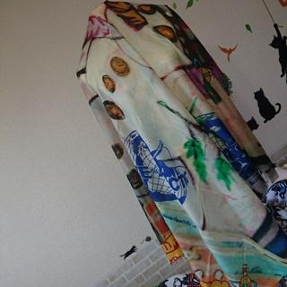 ヴィヴィアンウエストウッド(Vivienne Westwood)のヴィヴィアン ウエストウッド 新品 オーブ snowman ストール (ストール/パシュミナ)