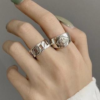 アリシアスタン(ALEXIA STAM)の高品質シルバーリングSILVER925 ☺︎ちゃん(リング(指輪))