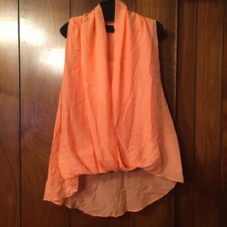 スコットクラブ(SCOT CLUB)のグランターブル 新品タグ付 オレンジ grand table タンクトップ (タンクトップ)