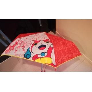 妖怪ウォッチ 折り畳み傘 53cm ジバニャン オレンジ(傘)