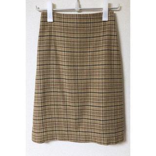 ロンハーマン(Ron Herman)のAURALEE オーラリー シルクサマーツイードスカート(ひざ丈スカート)