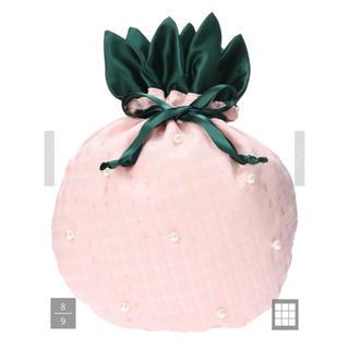 メゾンドフルール(Maison de FLEUR)のメゾンドフルール  ピンクパール パイナップル巾着 ポーチ(ポーチ)