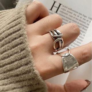 アリシアスタン(ALEXIA STAM)の高品質シルバーリングSILVER925 中指(リング(指輪))