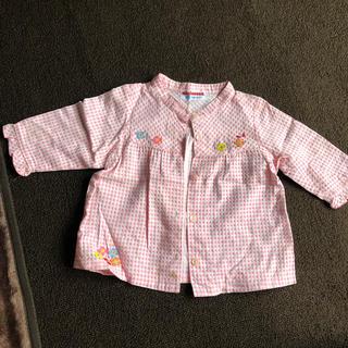 ミキハウス(mikihouse)のMIKIHOUSE チェックシャツ 羽織り(ブラウス)