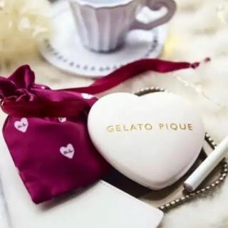 ジェラートピケ(gelato pique)のジェラートピケ❤️ 純白すぎる♡ ピュアハートの印鑑ケース(印鑑/スタンプ/朱肉)