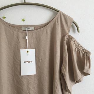 ミスティック(mystic)のmystic 肩あき袖フレアT(Tシャツ(半袖/袖なし))