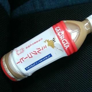 コカコーラ(コカ・コーラ)のジョージア◆ミルクコーヒー 500ml 3本 ペットボトル 送料無料 北海道限定(コーヒー)