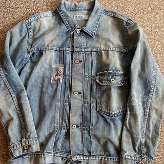 フラグメント(FRAGMENT)のsequel damage denim jacket XL(Gジャン/デニムジャケット)