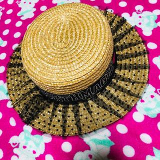 アースマジック(EARTHMAGIC)のアースマジック♡56㎝カンカン帽(帽子)