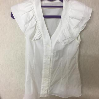 ルシェルブルー(LE CIEL BLEU)のmanielle  コートダジュールブラウス リボンなし(シャツ/ブラウス(半袖/袖なし))