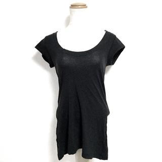 セオリー(theory)のセオリー 半袖Tシャツ サイズ2 S 黒(Tシャツ(半袖/袖なし))