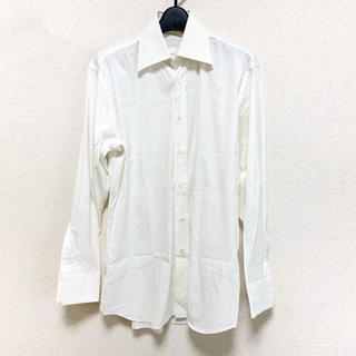 プラダ(PRADA)のプラダ 長袖シャツ サイズ38 M メンズ 白(シャツ)