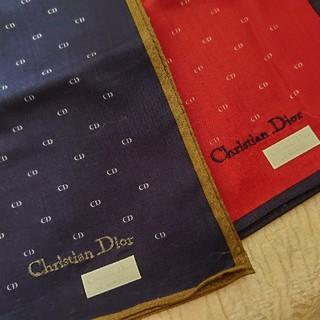 クリスチャンディオール(Christian Dior)のChristian Diorの紳士用ハンカチ(ハンカチ/ポケットチーフ)