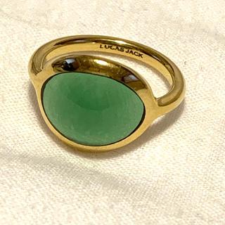 トゥモローランド(TOMORROWLAND)の美品 LUCAS JACK ルーカスジャック リング(リング(指輪))
