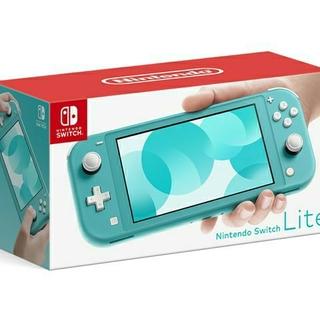 ニンテンドースイッチ(Nintendo Switch)の【値下げしました】Nintendo Switch Lite [ターコイズ](携帯用ゲーム機本体)