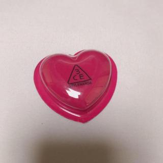スリーシーイー(3ce)の新品 3ce heart pot lip #woody rose(リップケア/リップクリーム)