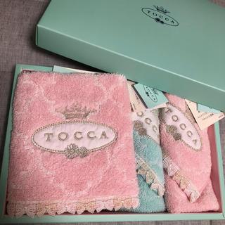 トッカ(TOCCA)のTOCCA☆ハンドタオル、タオルハンカチ 計3点セット(タオル/バス用品)