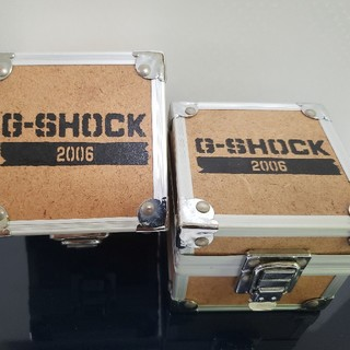 ジーショック(G-SHOCK)のG-SHOCK FIREPACKAGE 専用 化粧箱 非売品 2006年モデル(その他)