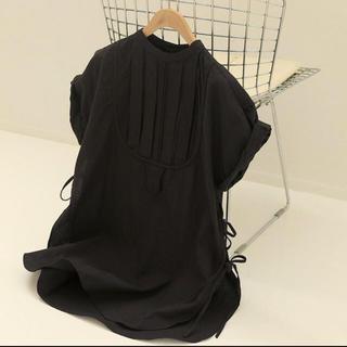 トゥデイフル(TODAYFUL)のトゥデイフル ドレスシャツ ブラック(シャツ/ブラウス(長袖/七分))