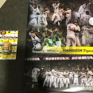 ハンシンタイガース(阪神タイガース)の阪神タイガースのクリアファイル 値下げしました。(応援グッズ)