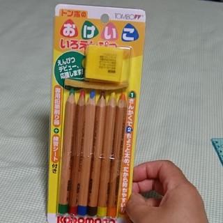 トンボエンピツ(トンボ鉛筆)のおけいこ いろえんぴつ(色鉛筆)