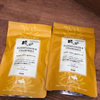ムジルシリョウヒン(MUJI (無印良品))のノンカフェイン デカフェ ルシピア エルダーフラワー&カモミール(茶)