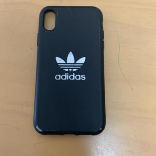 アディダス(adidas)のアディダススマホケース iPhoneXRケース(iPhoneケース)