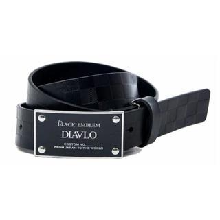ディアブロ(Diavlo)の(新品)DIAVLO レザー ベルト(ベルト)