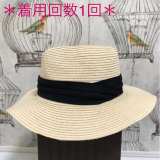 ジーユー(GU)の*美品*GU★麦わら帽子(麦わら帽子/ストローハット)