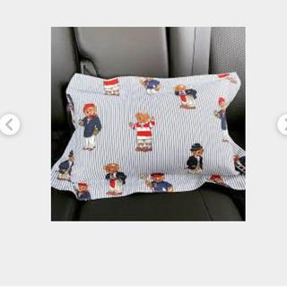 ラルフローレン(Ralph Lauren)のラルフローレン 枕カバー キッズ 未使用 ポロベア リメイク 布地 マスク(シーツ/カバー)