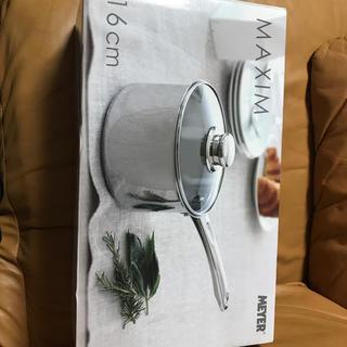 マイヤー(MEYER)の片手鍋 MEYERMAXIM 16cm(鍋/フライパン)