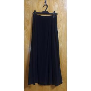 ワイズ(Y's)のHOMMA ロングスカート 黒(ロングスカート)