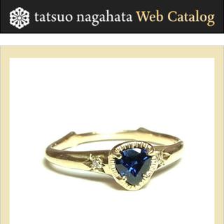 アッシュペーフランス(H.P.FRANCE)のTatsuo nagahata サファイア リング 12号 ダイヤ(リング(指輪))