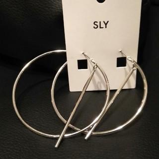 スライ(SLY)のSLY 新品未使用!フープピアス(ピアス)