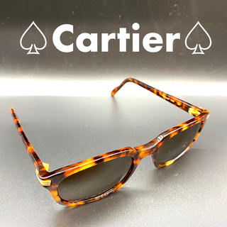 カルティエ(Cartier)の⭐️美品⭐️カルティエ トリニティ べっ甲 サングラス(サングラス/メガネ)