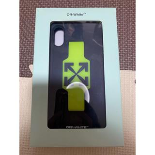 オフホワイト(OFF-WHITE)のiPhone xr ケース(iPhoneケース)