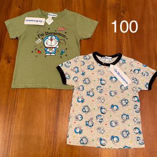 サンリオ(サンリオ)の新品 ドラえもん Tシャツ 半袖 トップス 子供 男の子 100 夏服(Tシャツ/カットソー)